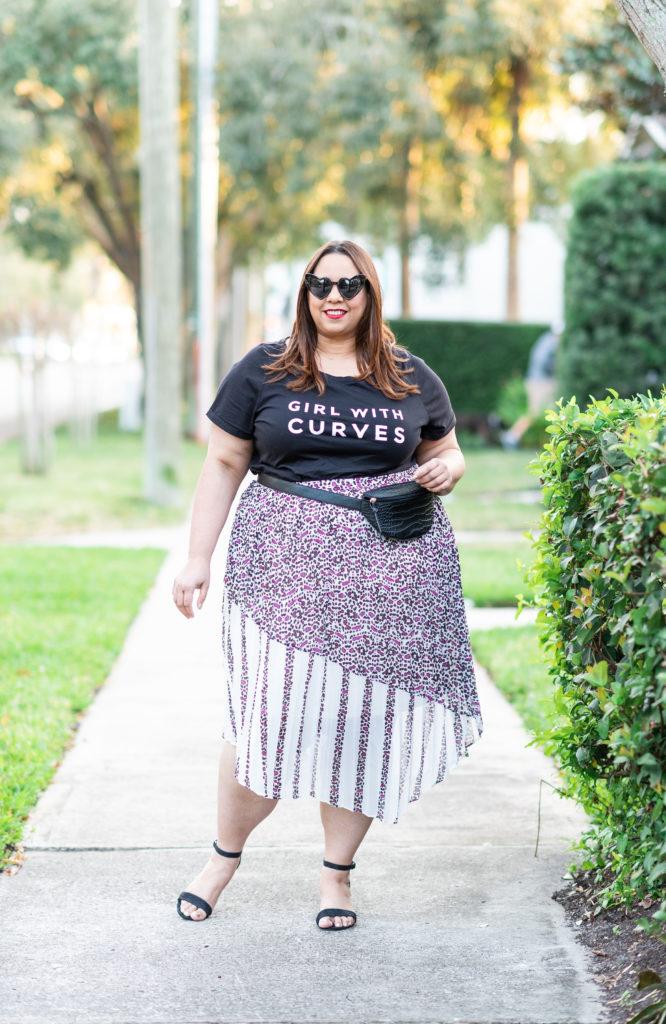 Blogger Farrah Estrella Wearing The Girl With Curves Collection