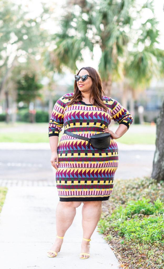 Plus Size Fashion Blogger Farrah Estrella