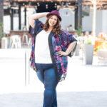 Look #2 of 2019: Kimono Robe & Denim