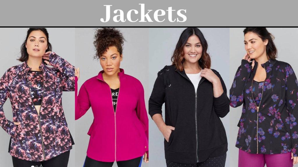 plus size activewear jackets