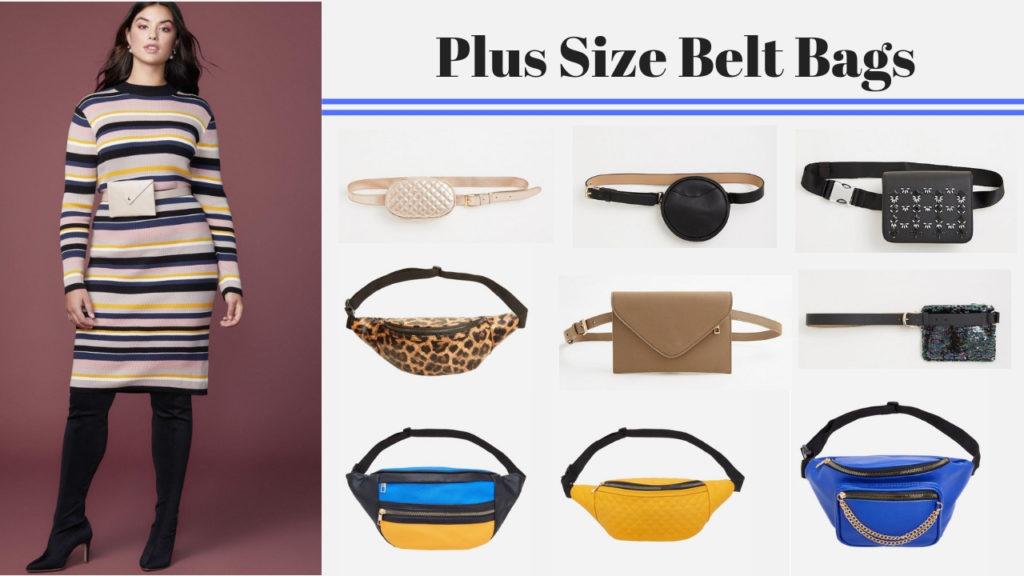Plus Size Belt Bags- Fanny Packs