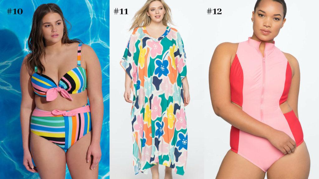 plus size bathing suits