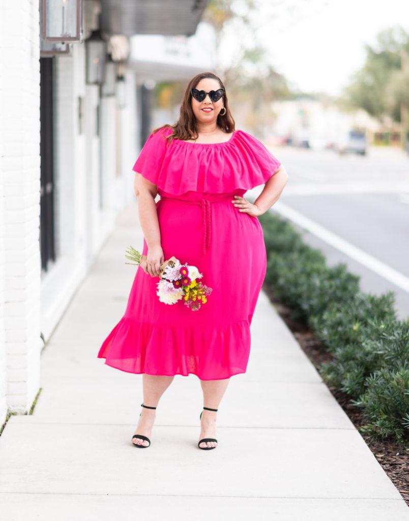 plus size blogger farrah estrella