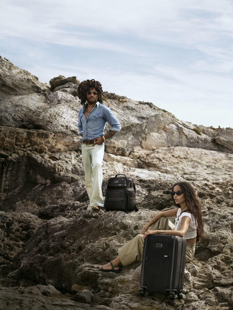 Lenny & Zoe Kravitz for TUMI Luggage