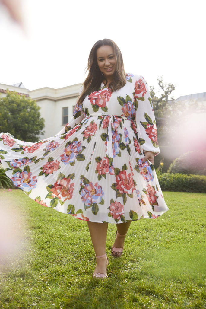 Rochelle Johnson from the Blog Beauticurve x Lane Bryant