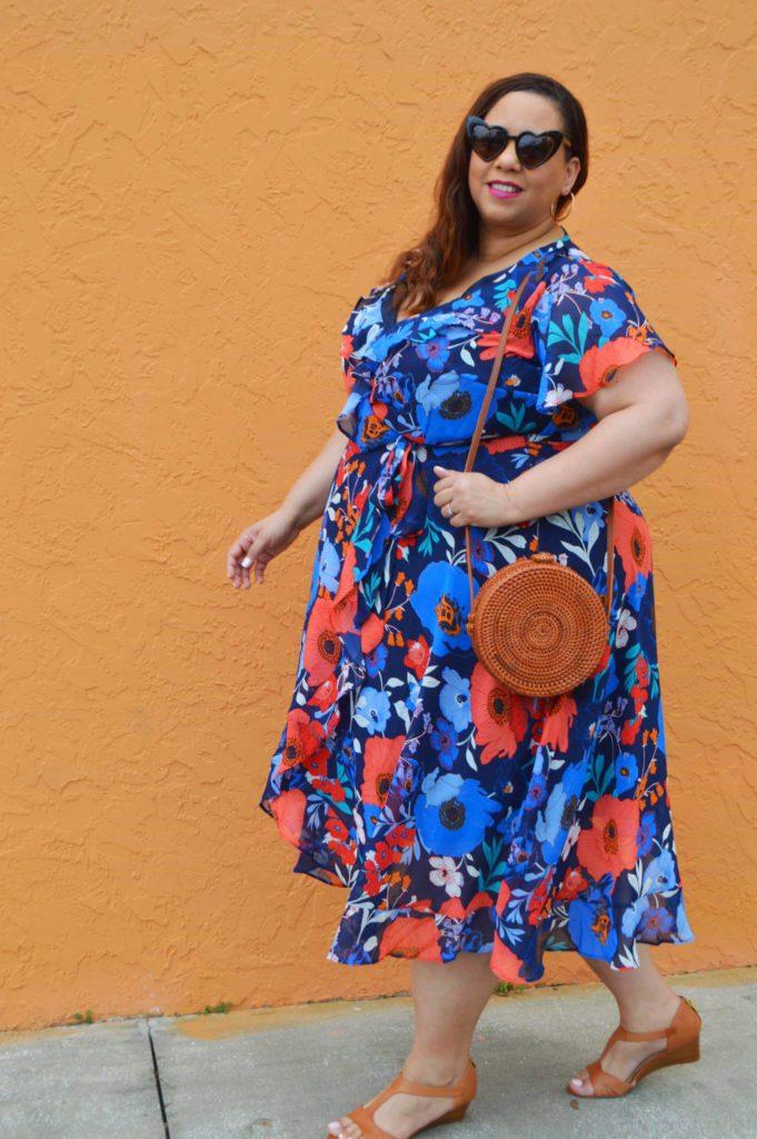 Dominican Plus Size Fashion Blogger Farrah Estrella