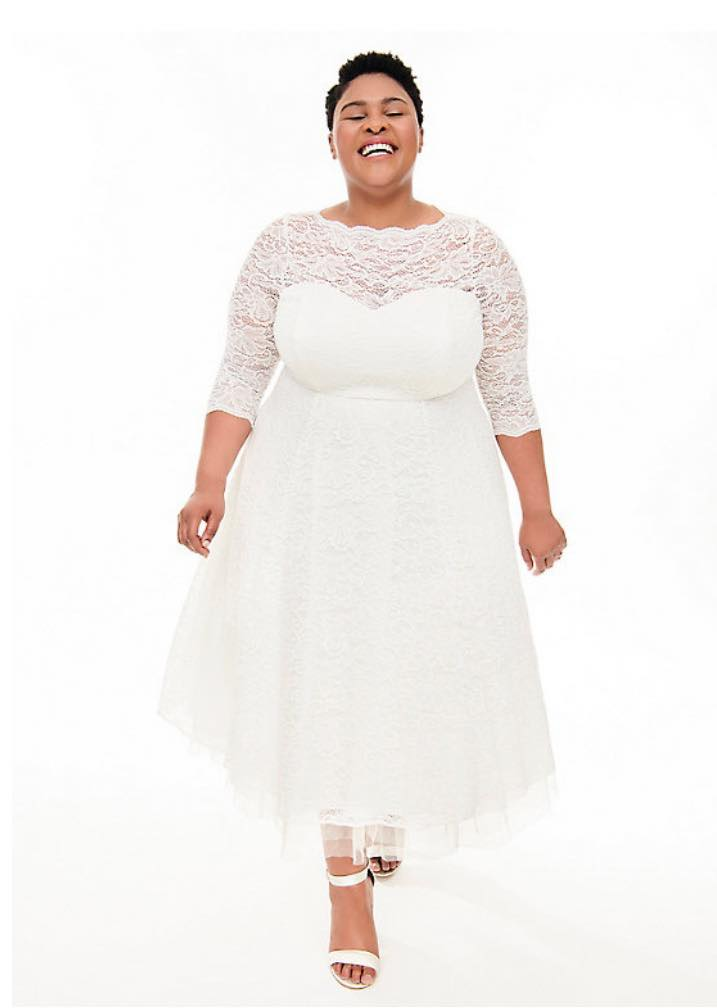 plus size wedding dress from torrid