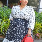 Look#14 Of 2019: Beauticurve x Lane Bryant Mixed Floral Wrap Dress