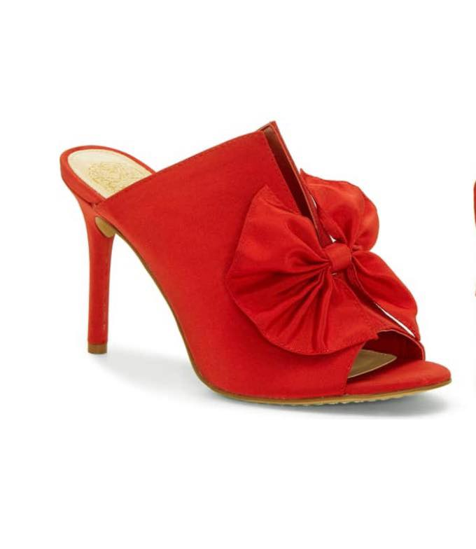 Red Sandals by Vince Camuto