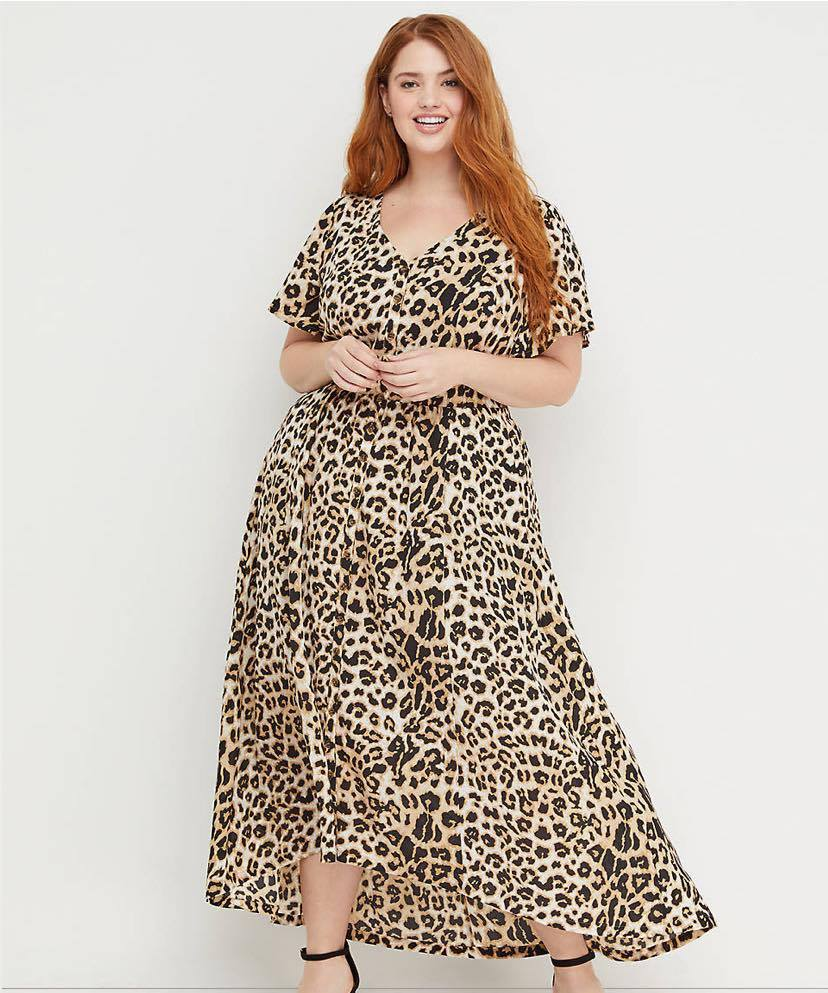 animal print maxi dress from Beauticurve x Lane Bryant