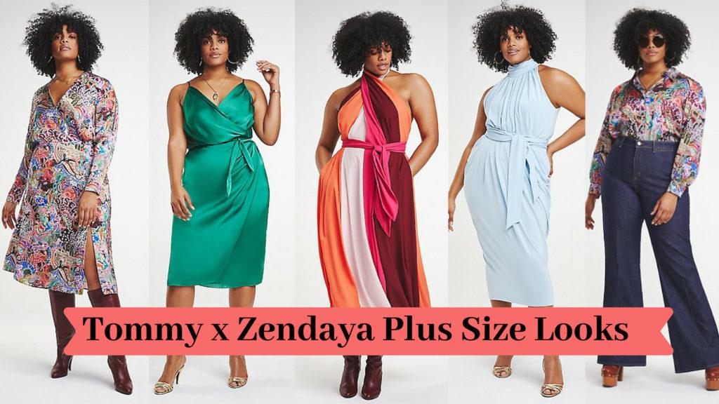 Tommy x Zendaya Plus Size Looks