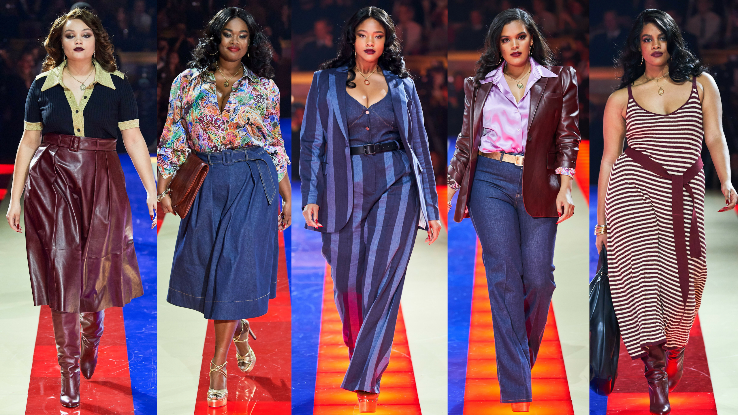 348c4ee2e Plus Size Models Shine At The Tommy Hilfiger x Zendaya Fashion Show In  Paris – Estrella Fashion Report