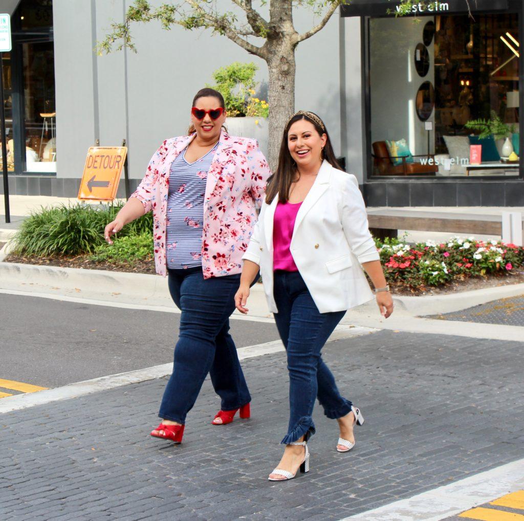 Tampa fashion bloggers farrah estrella and Melissa Whitney