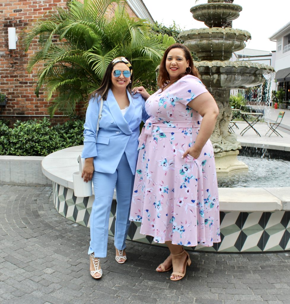 Tampa fashion Bloggers in Hyde Park Village