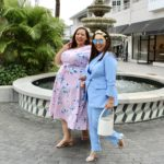 Look #13 of 2019: Pink & Blue Plus Size Looks In Collaboration With Blogger Melissa Whitney