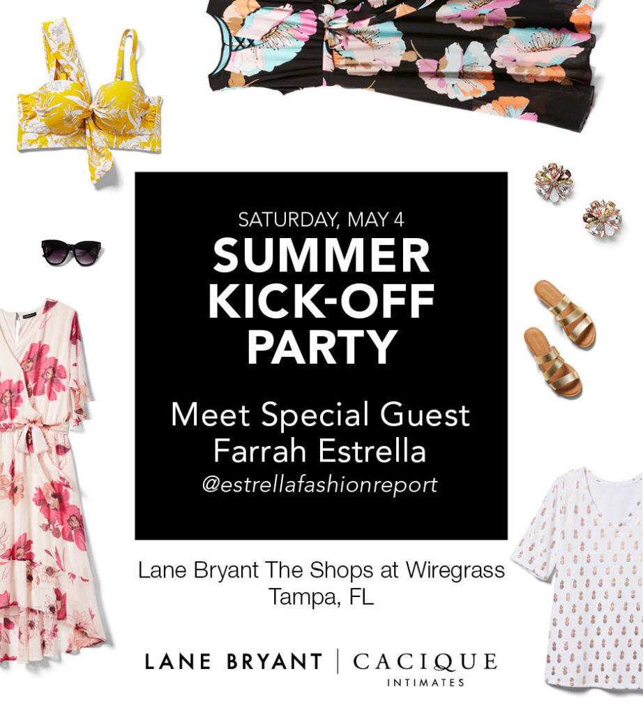 summer kick-off party at lane bryant in wesley chapel