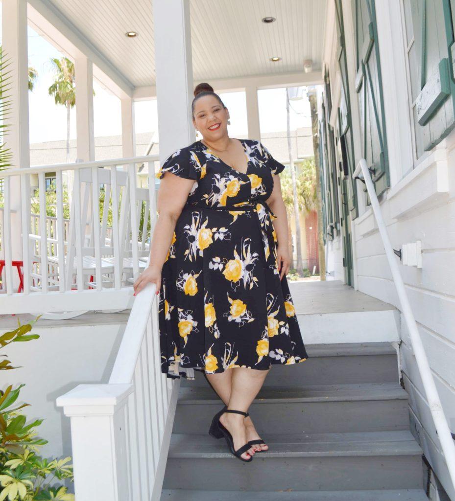 plus size tampa fashion blogger farrah estrella