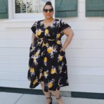 Look #20 Of 2019: Tropical Print Dress