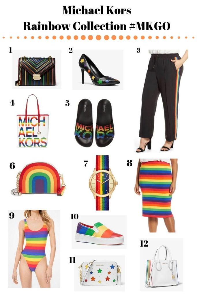 michael kors rainbow collection 2019