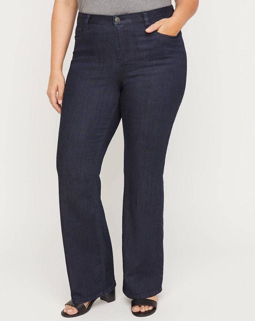 Plus Size Universal Bootcut Jeans