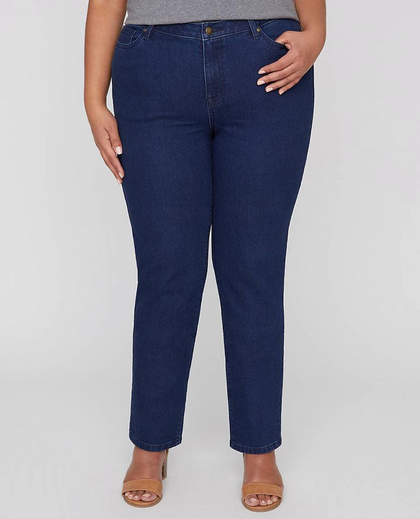 Plus Size Universal Jeans by catherines