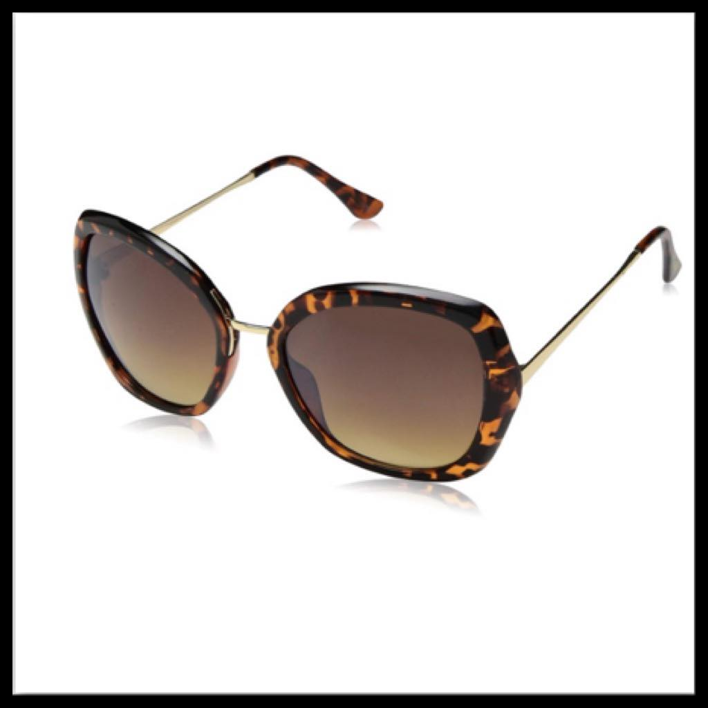 Nanette Lepore Tortoise/Black Sunglasses