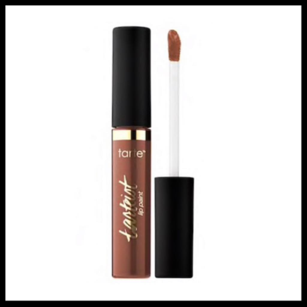 Tarte Quick Dry Matte Lip Paint in the color wannabe- rich brown