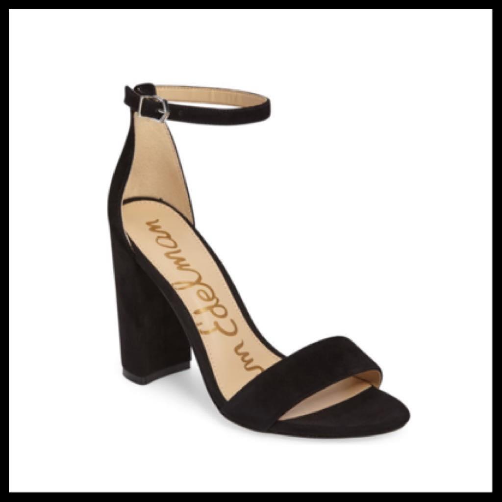 black sandals for women by sam edelman