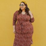 Look # 35 Of 2019: Tie Waist Plus Size Midi Dress From Eloquii