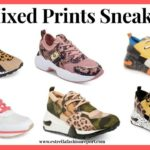 Fall Trend: Mixed Prints Sneakers