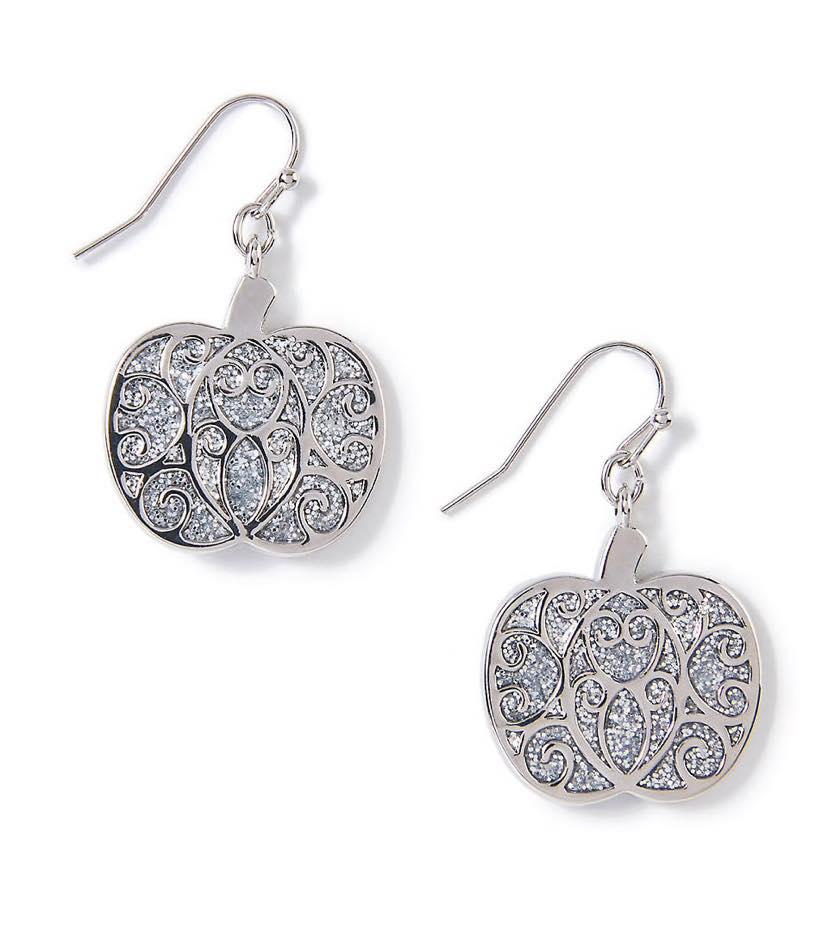 pumpkin shaped earrings