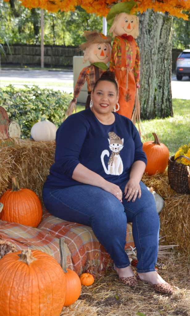 Halloween plus size outfit