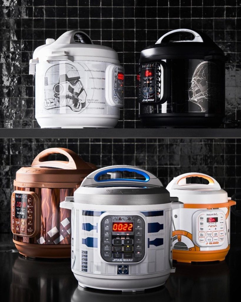 Star Wars Instant Pots at Williams Sonoma