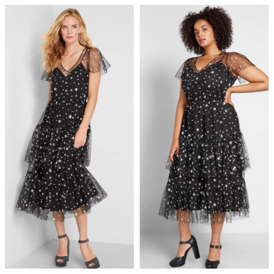 Tulle There Was You Midi Dress by Modcloth