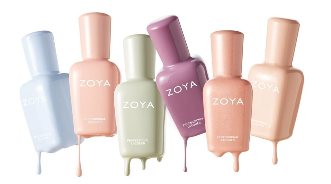 zoya nail polish calm collection