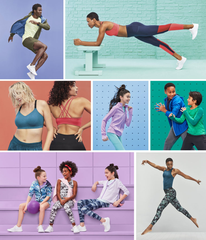 Target all in motion activewear line