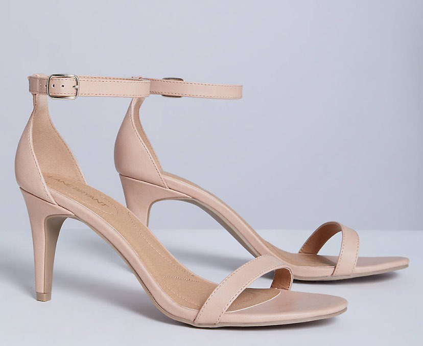 Thin Tall Ankle-Strap High Heel Sandal