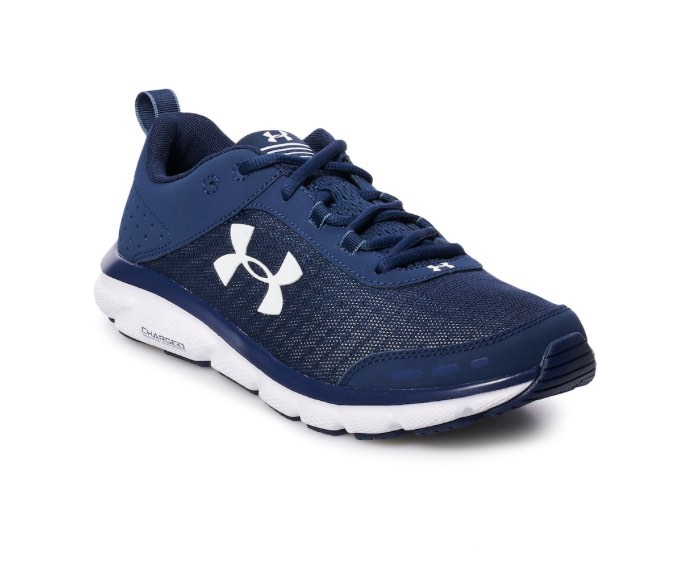 Navy Under Armour Charged Assert 8 Men's Running Shoes