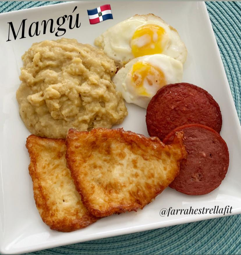 Dominican Food mangu