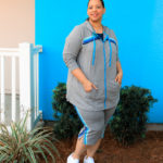 Grey Plus Size Activewear Set From Catherines