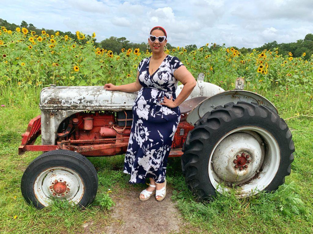 Sunflower Farm in Florida