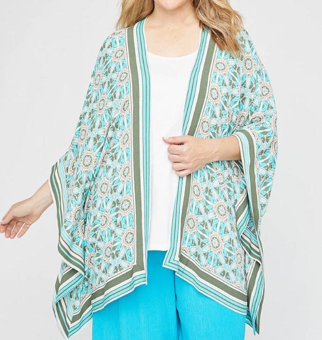 gauze kimono