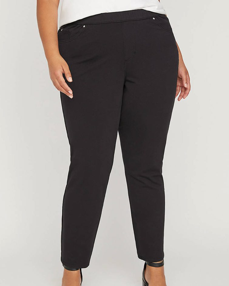 the knit jean by catherines in black
