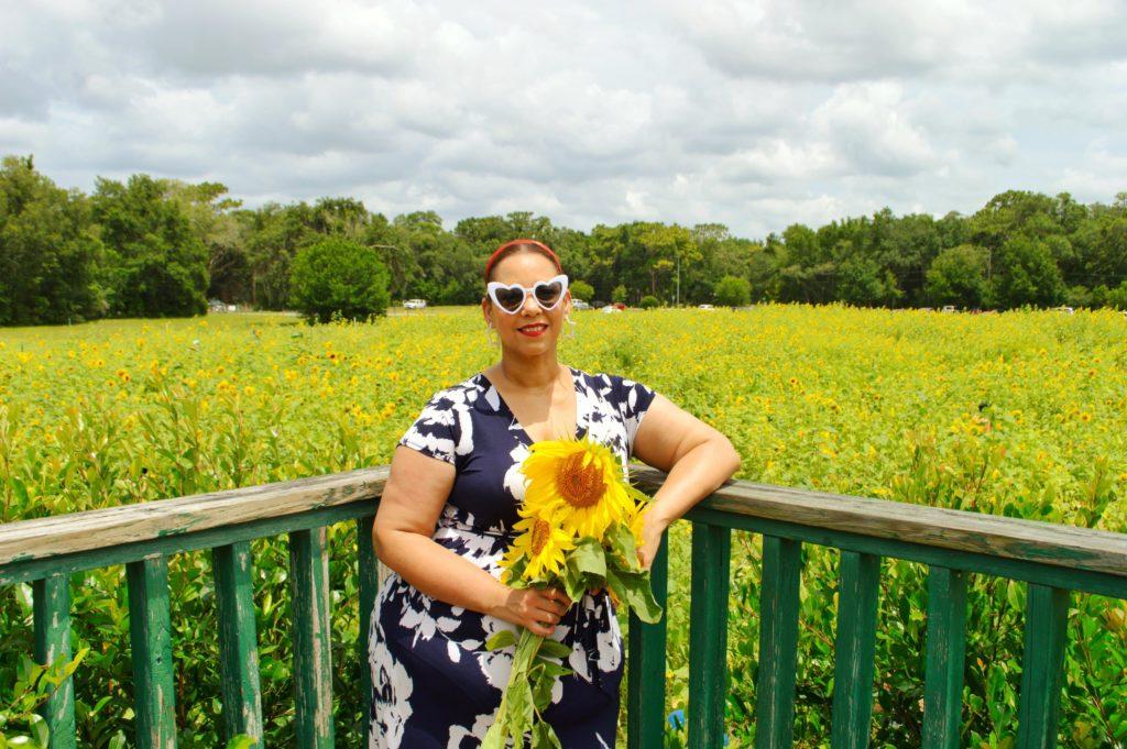 Sunflower Field in Florida