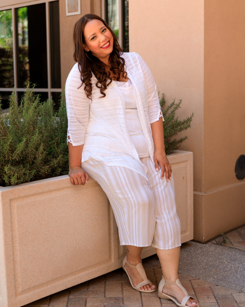 gauze outfit from catherines plus