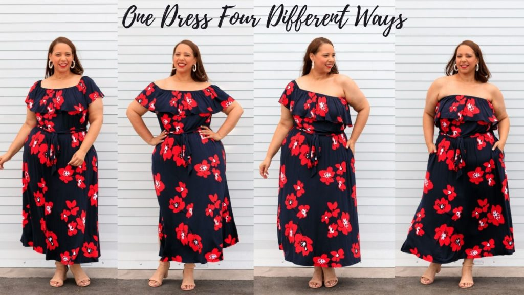 How to wear one dress four different ways
