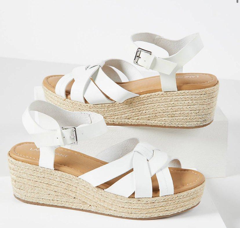 Espadrille Wedge Ankle-Strap Sandals