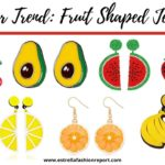 Summer 2020 Trend: Fruit Shaped Jewelry