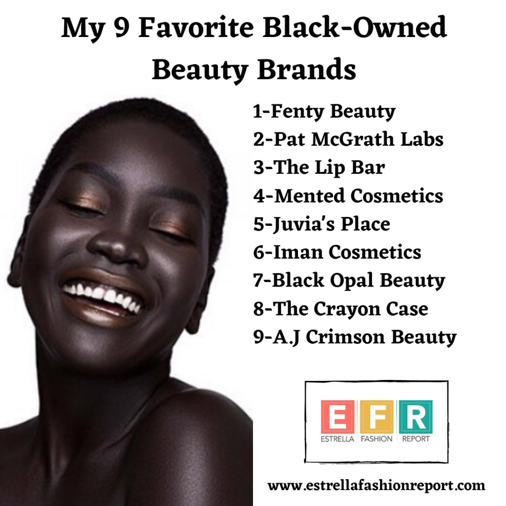 My 9 Favorite Black-Owned Beauty Brands That You Can Support Right Now