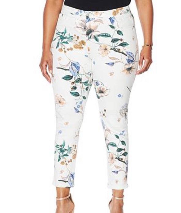 Cenia New York ConVi Printed Skinny Jean
